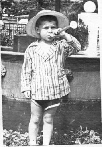 Олег Газманов в детстве фото