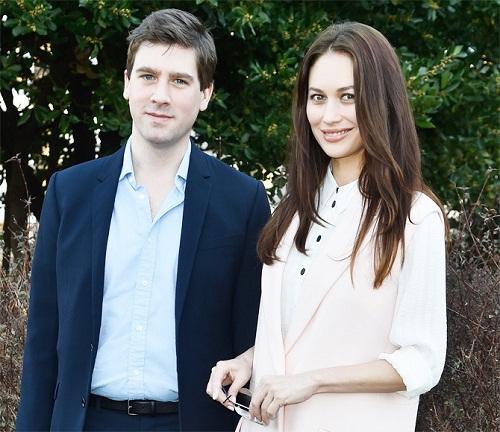 Ольга Куриленко с мужем Максом Беницем фото