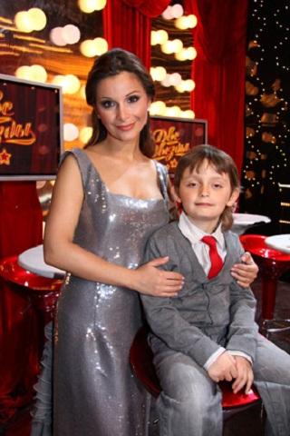 Ольга Орлова с сыном Артёмом фото