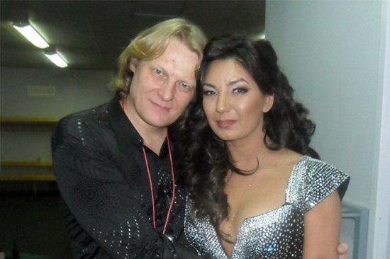 Рада Рай с мужем Олегом Ураковым фото