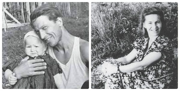 Родители Тамары Глобы