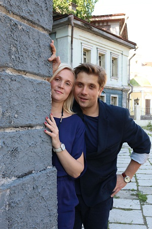 Роман Маякин с женой фото
