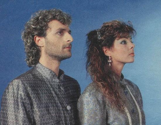 Сандра с бывшим мужем Мишелем Крету фото