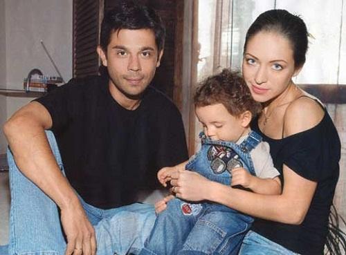 Серафима Низовская с бывшим мужем и сыном фото