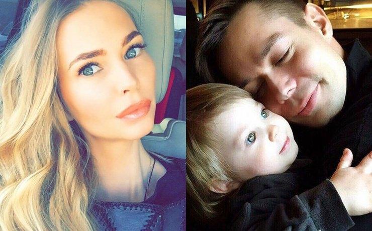Стас Пьеха с женой и сыном фото