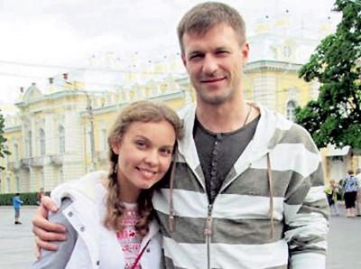 Полина Сыркина со своим бывшем мужем Константином Стрельниковым фото