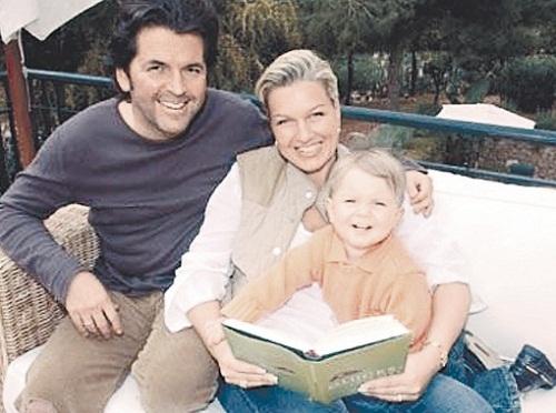 Томас Андерс с семьей женой и сыном фото