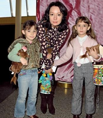 Чулпан Хаматова с детьми фото