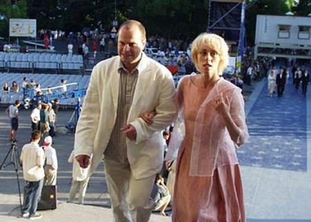 Юлия Рутберг с бывшим мужем Алексеем Кортневым фото