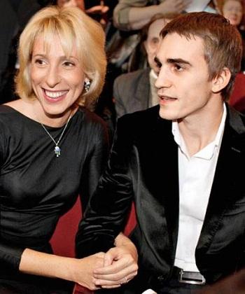 Юлия Рутберг с сыном фото