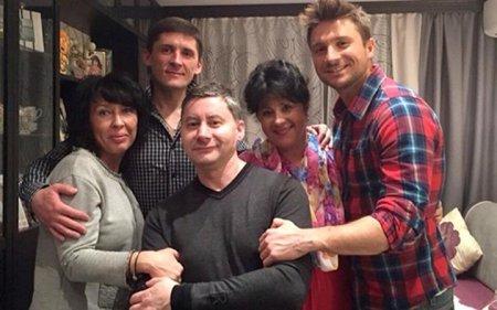 сергей лазарев семья брат родители фото