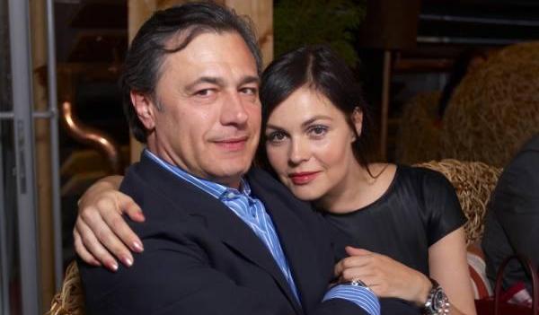 фото Екатерины Андреевой и супруга Душана Перовича
