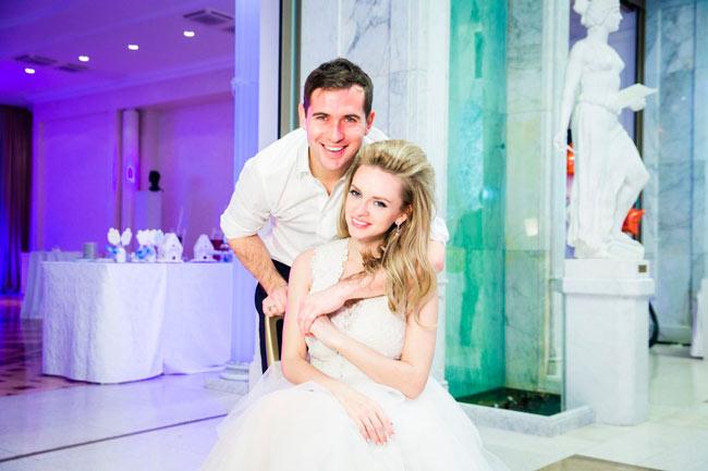 Милана Кержакова с Александром