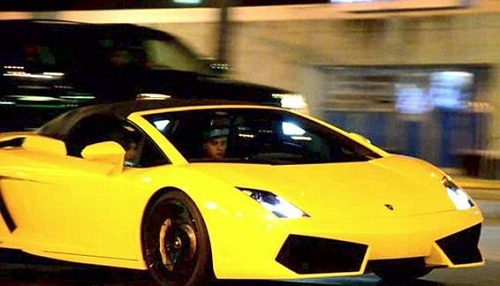 Lamborghini Джастина Бибера