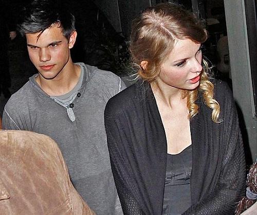Тейлор Свифт (Taylor Swift) и Тэйлор Лотнер (Taylor Lautner) фото