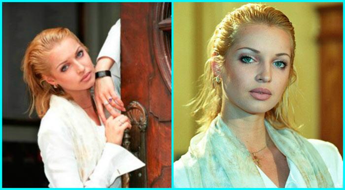 Анастасия Волочкова в молодости