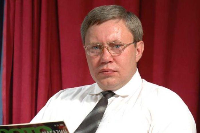 Внезапно скончался  актер сериалов «Универ» и «След» Виталий Ендовицкий