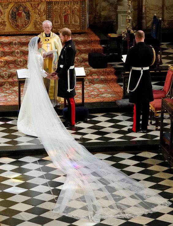 Первые фото со свадьбы принца Гарри и Меган Маркл