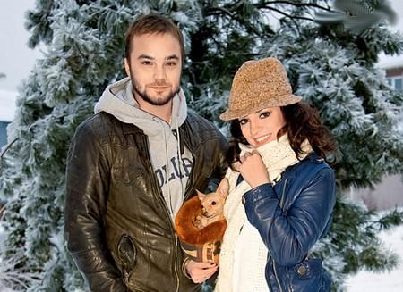 Андрей Чадов с бывшей гражданской женой Светланой Светиковой фото