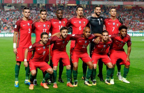 Состав Сборной Португалии по футболу на Чемпионате мира 2018