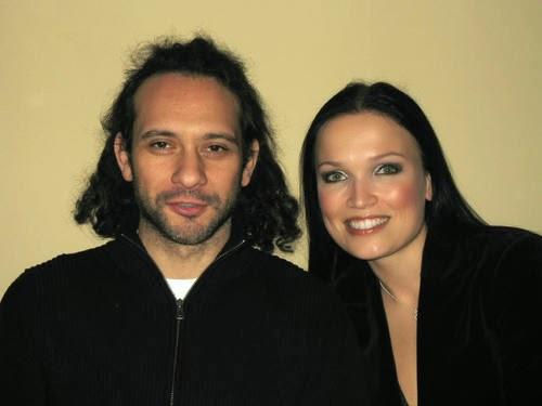 Тарья Турунен с мужем Марсело Кабули