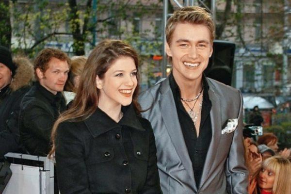Анна Чиповская и ее муж, свадьба