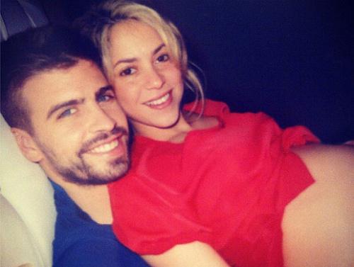 Шакира и Жерар Пике фото