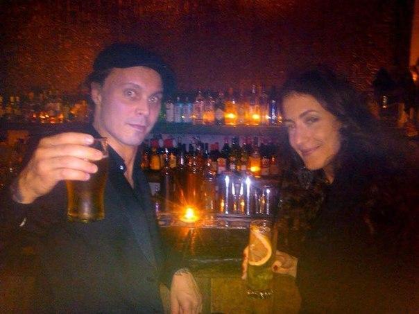 Вилле Вало (Ville Valo) с Сандрой Миттикой (Sandra Mittica)