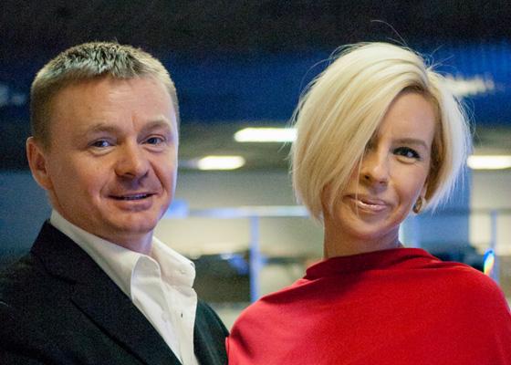 Владимир Сычев с женой Алесей Великановой фото