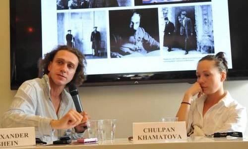 Чулпан Хаматова с мужем Александром Шейном фото