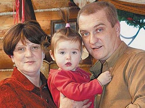 Александр Балуев с семьей женой и дочерью фото