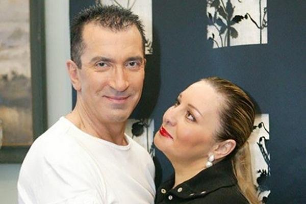 Александр Буйнов с женой Еленой (Алёной) Гутман фото