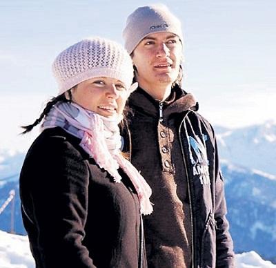 Александр Гудков и его родная сестра Наталья фото