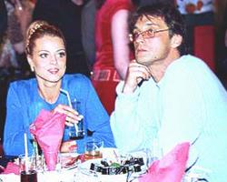 Александр Домогаров с первой женой Натальей Сагоян фото