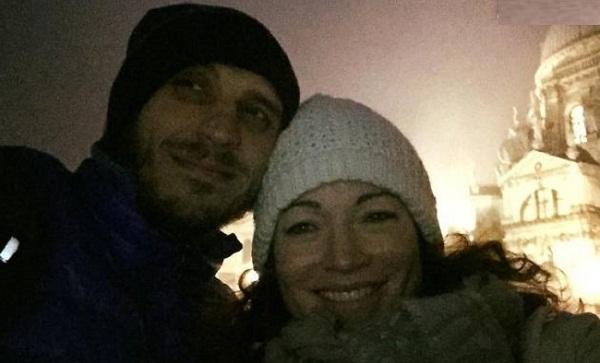 Алена Хмельницкая с новым возлюбленным Александром Синюшиным фото