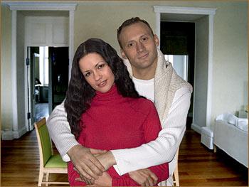 Анатолий Белый с женой Инессой Москвичёвой фото