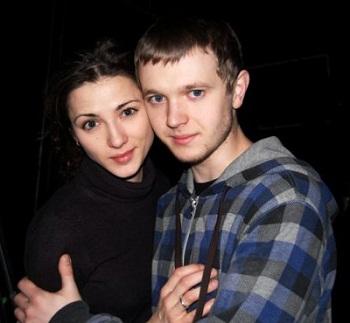 Андрей Сенькин с женой