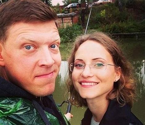Анна Бегунова с мужем фото