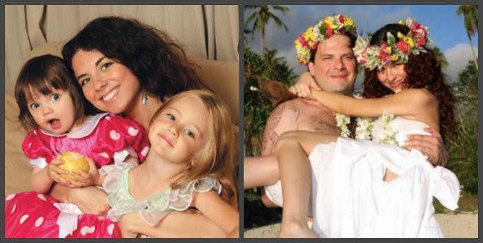 анна плетнёва с детьми фото