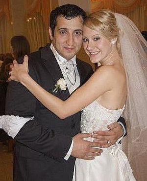 Арарат Кещян с первой супругой Ириной фото