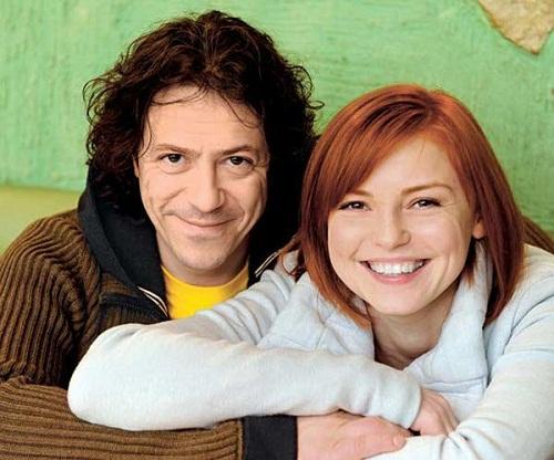 Борис Хвошнянский с женой фото