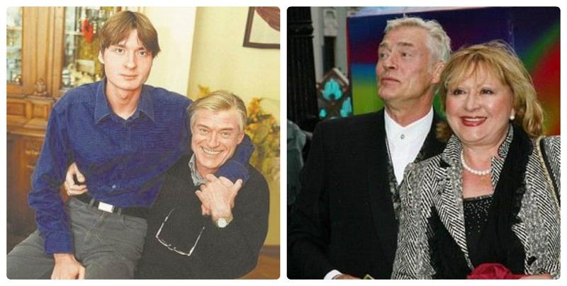 Борис Щербаков с женой и сыном фото