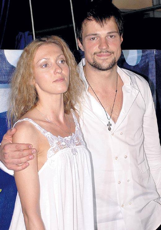 Данила Козловский с бывшей супругой Уршулой Магдаленой фото