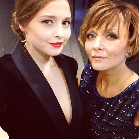 Дарья Повереннова с дочерью Полиной фото
