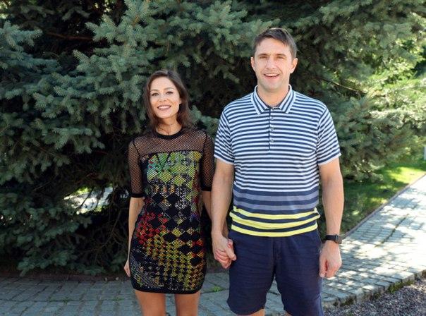 Елена Лядова с супругом Владимиром Вдовиченко фото
