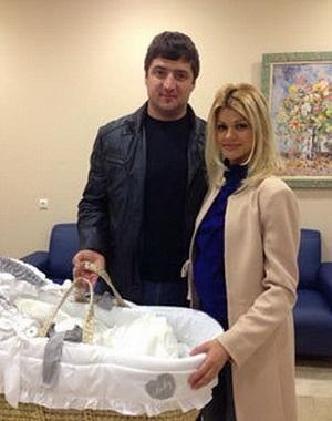 Ирина Круг с третьим мужем и сыном фото