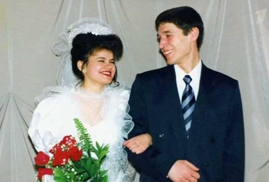 Ирина Круг с первым супругом