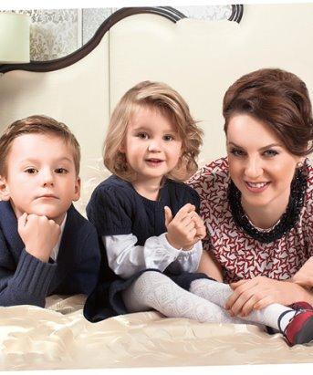 Ирина Слуцкая дети фото