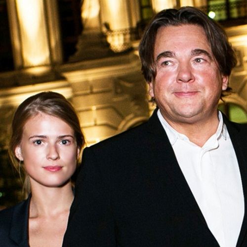 Константин Эрнст с молодой женой фото
