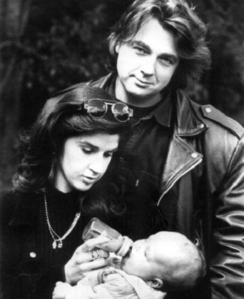 Константин Эрнст с первой супругой и дочерью фото